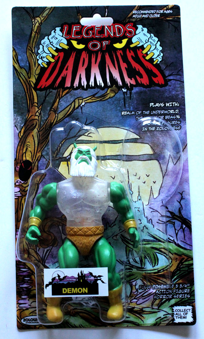 Legends Of Darkness Demon MOC Action Figure - Click Image to Close