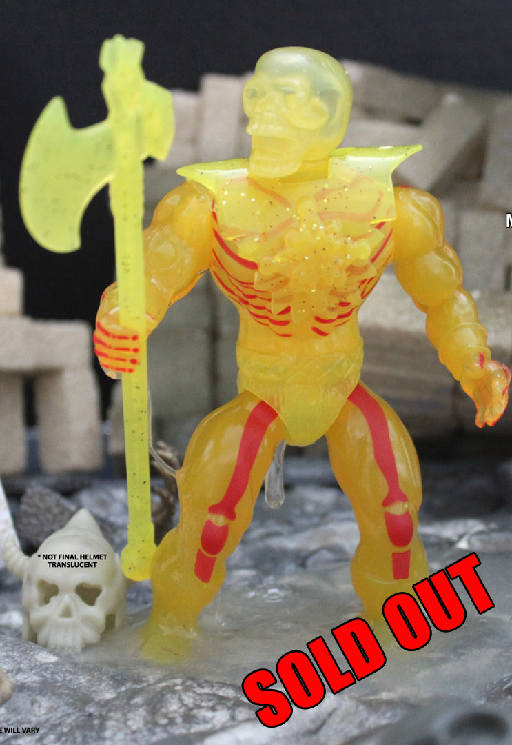 MOLTEN MELTDOWN ACROMANCER SLIMED DRONES Asst. Action Figure