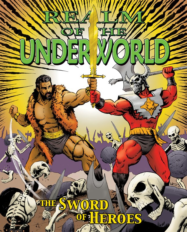 Realm Of the Underworld - The Sword Of Heroes Artwork Comic