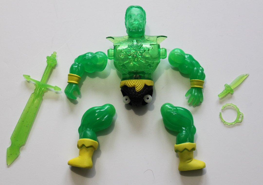 ROTU SLIMED DRONE TOXIC TERROR HERCULES ACTION FIGURE - Click Image to Close