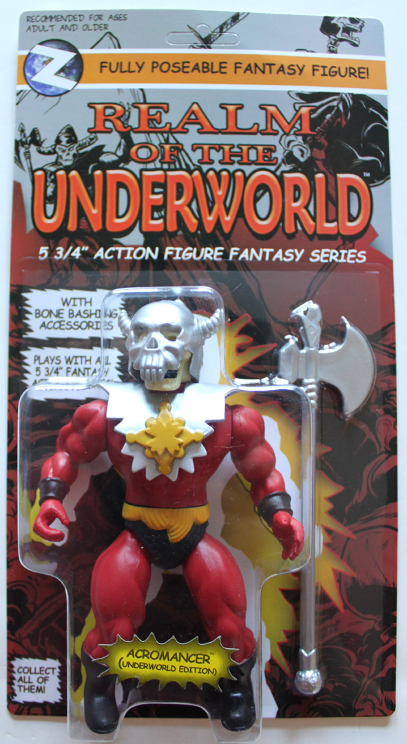 ACROMANCER Evil Warlock Underworld Edition Action Figure MOC - Click Image to Close