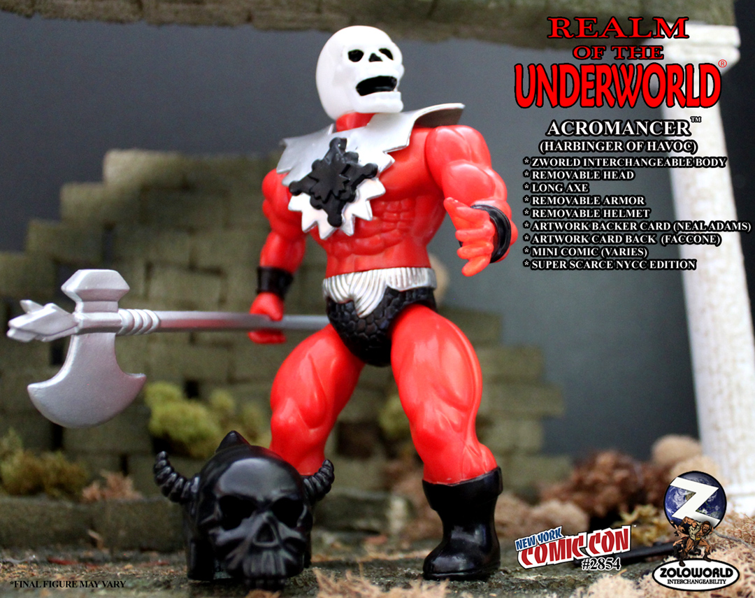 REALM OF THE UNDERWORLD ACROMANCER (HARBINGER OF HAVOC) NYCC EX