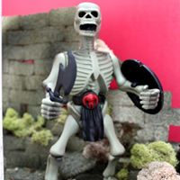 ARCHFIEND (ULTIMATE EVIL EDITION) Skeleton Warrior Action Figure