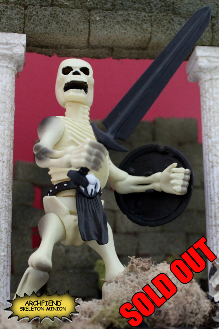 ARCHFIEND (ULTIMATE EVIL EDITION) Skeleton Warrior Action Figure - Click Image to Close