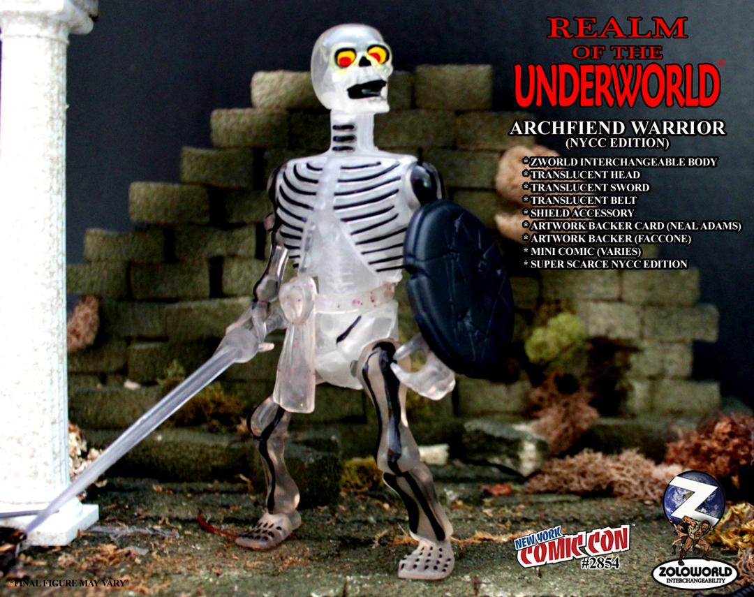 NYCC EXCLUSIVE ARCHFIEND WARRIOR Action Figure - Click Image to Close