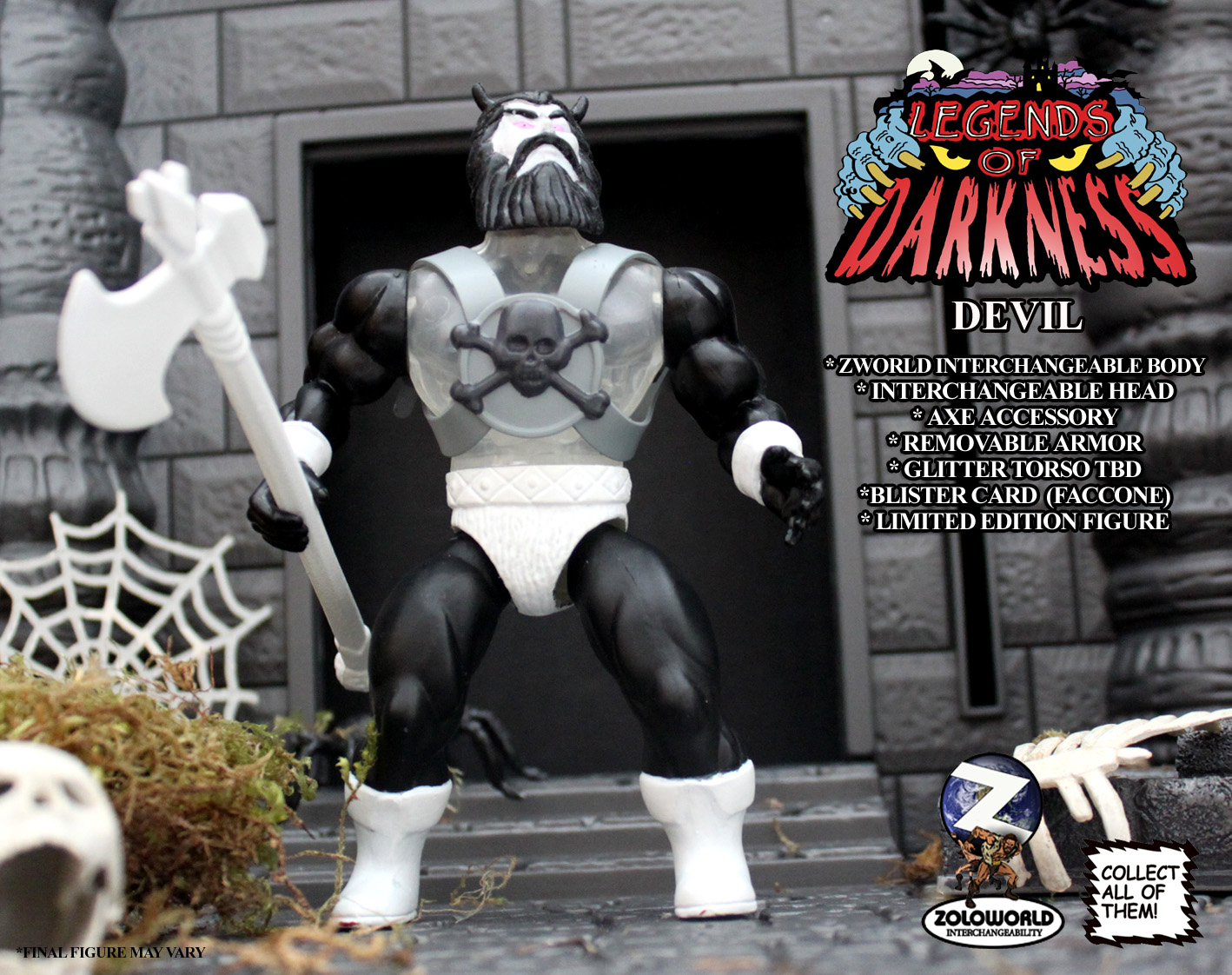 LEGENDS OF DARKNESS DEVIL MONSTER FIGURE - Click Image to Close