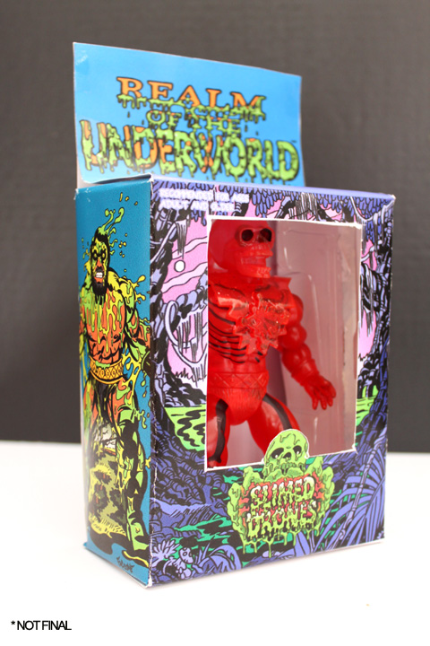 ROTU SLIMED DRONE GROOZE-SUM TRANSLUCENT ACTION FIGURE W/ SLIME - Click Image to Close