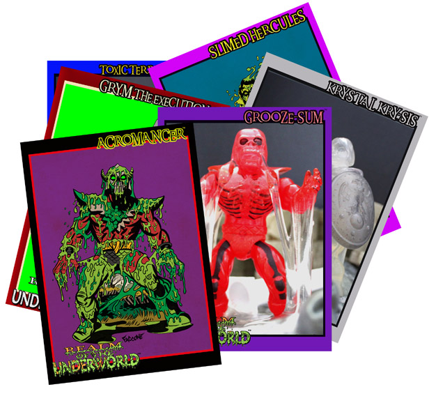 ROTU SLIMED DRONE GROOZE-SUM TRANSLUCENT ACTION FIGURE W/ SLIME