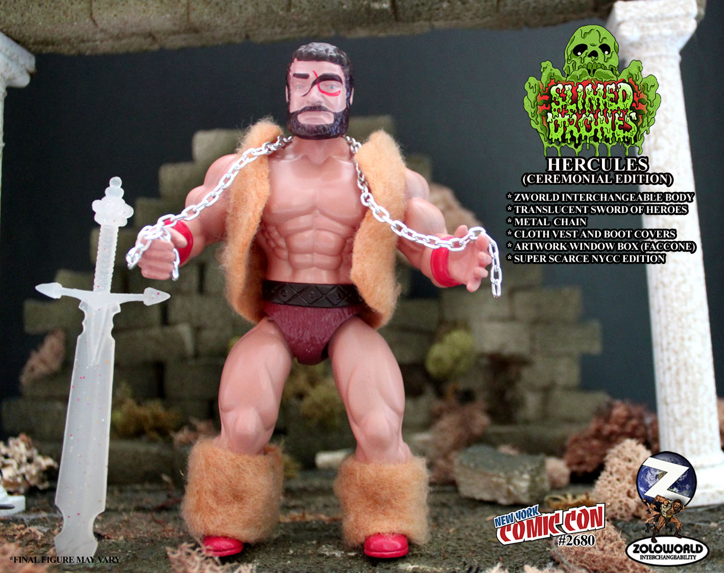 ROTU HERCULES (CEREMONIAL EDITION) NYCC Edition Figure
