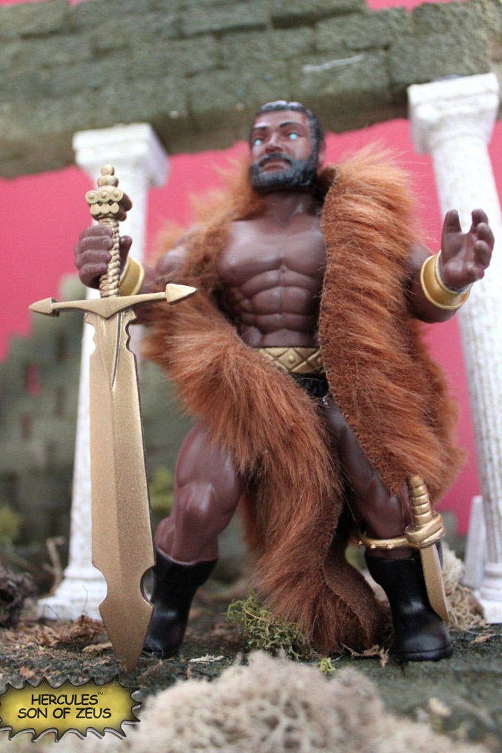 HERCULES SON OF ZEUS Retro Vintage Style Action Figure MOC Hero