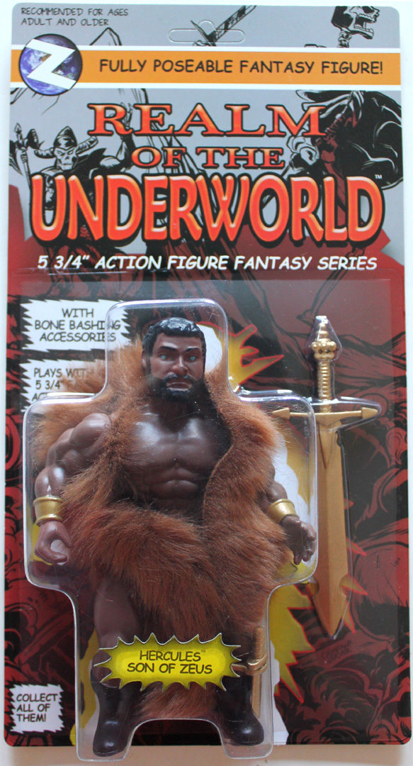 HERCULES SON OF ZEUS Retro Vintage Style Action Figure MOC Hero - Click Image to Close