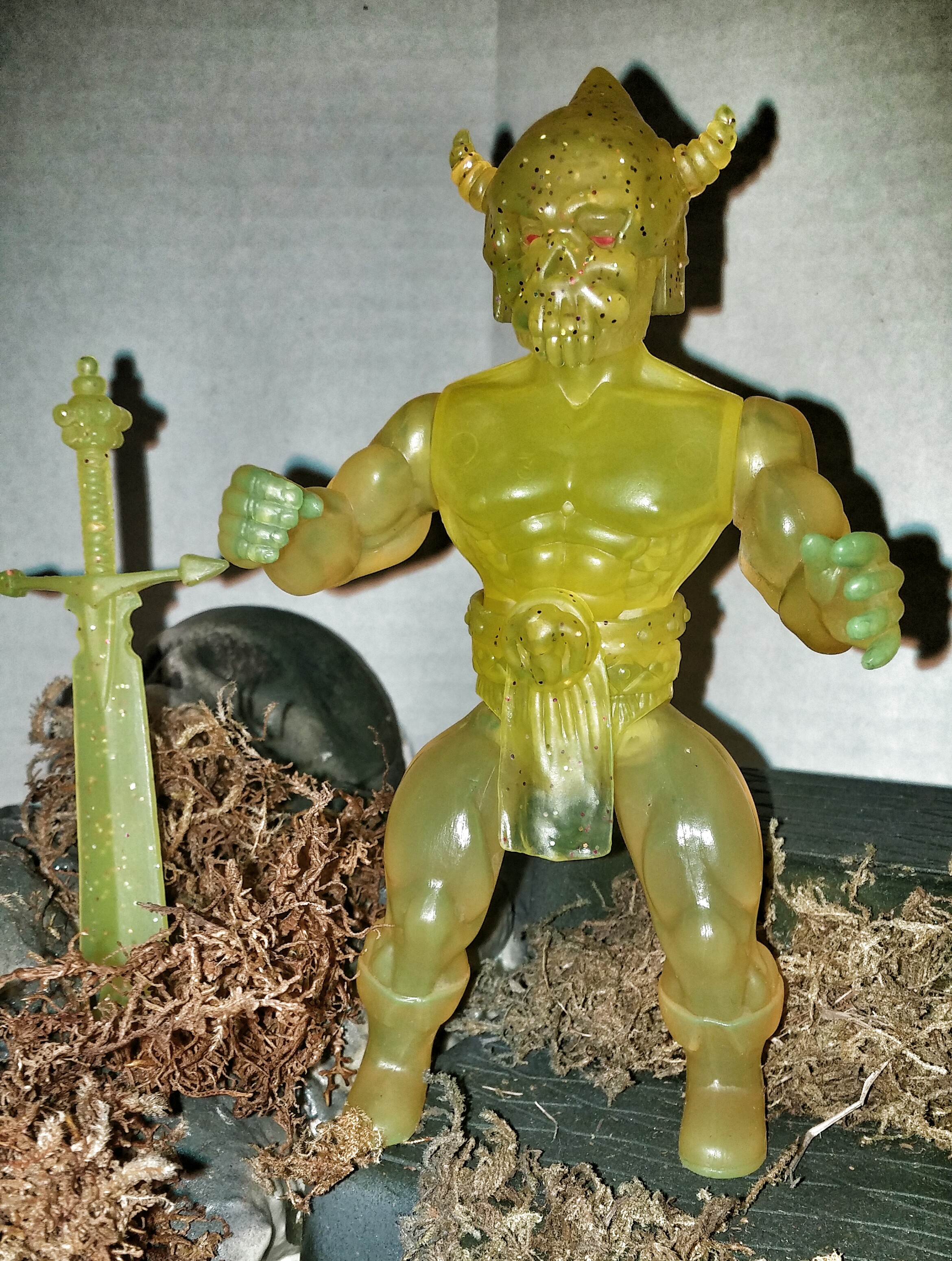 NEW! HERCULES (Fallen To Darkness) HOLIDAY MIB figure