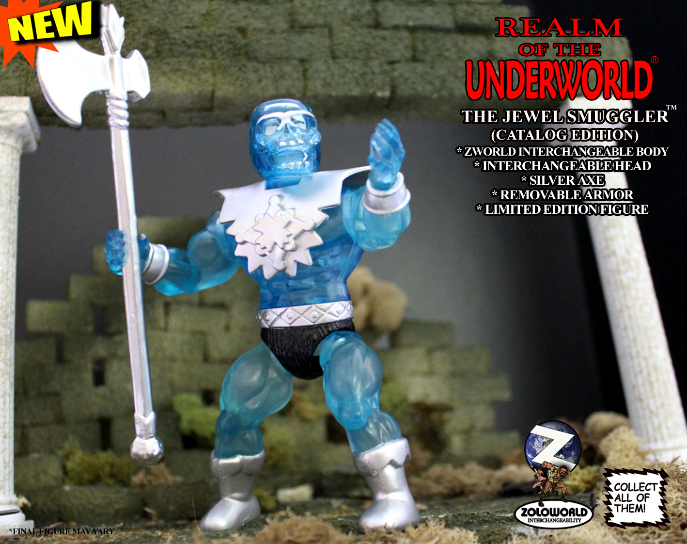 JEWEL SMUGGLER MOC Action Figure