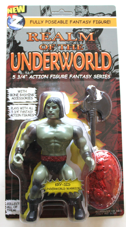 KRY-SIS (UNDERWORLD WARRIOR) Interchangeable Retro Action Figure