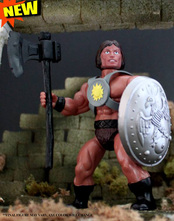 KRY-SIS The Warrior MOC Action Figure - Click Image to Close