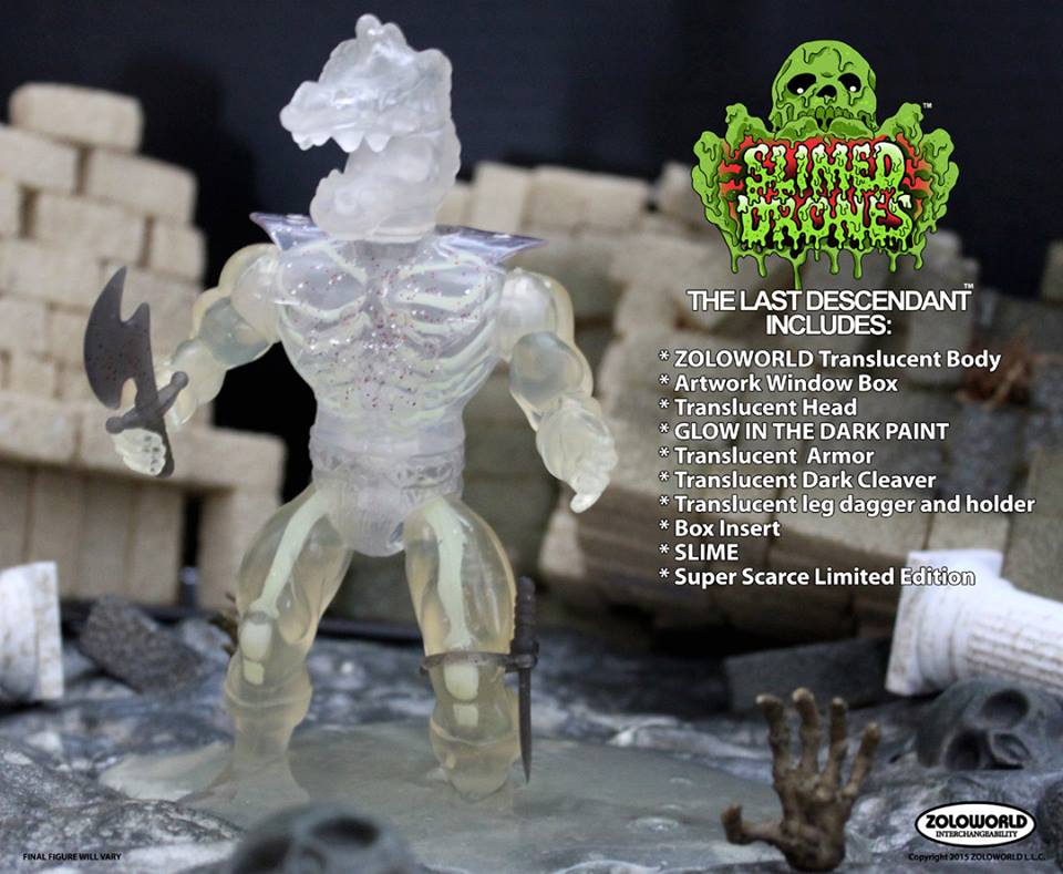 THE LAST DESCENDANT SLIMED DRONES Asst. Action Figure