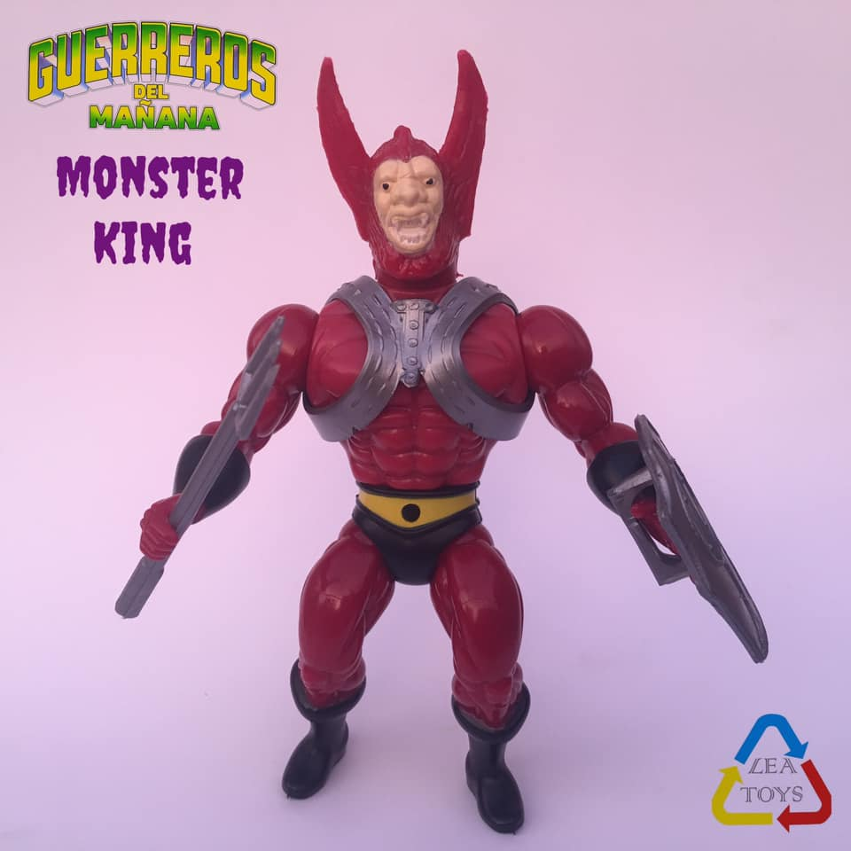 Guerreros Del Manana Monster King Pre-Order