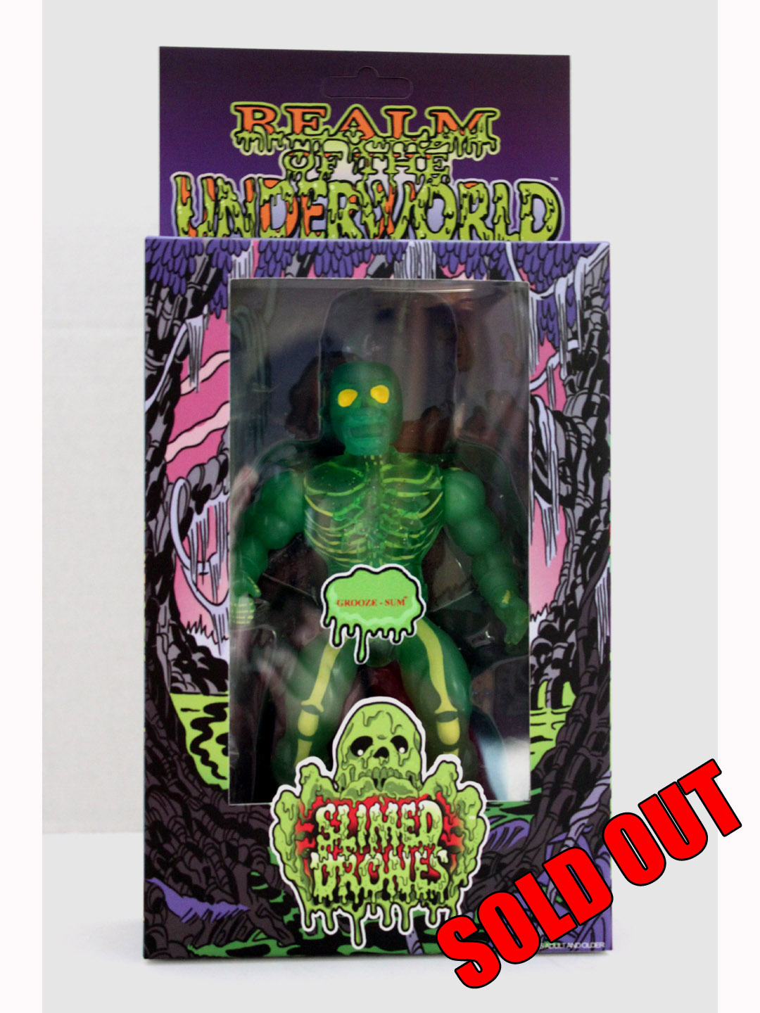 SLIMED DRONES NYCC Exclusive Variant Green GROOZE SUM MIB FIGURE