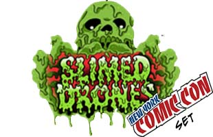 ROTU SLIMED DRONES NYCC 5 Figure SET - Click Image to Close