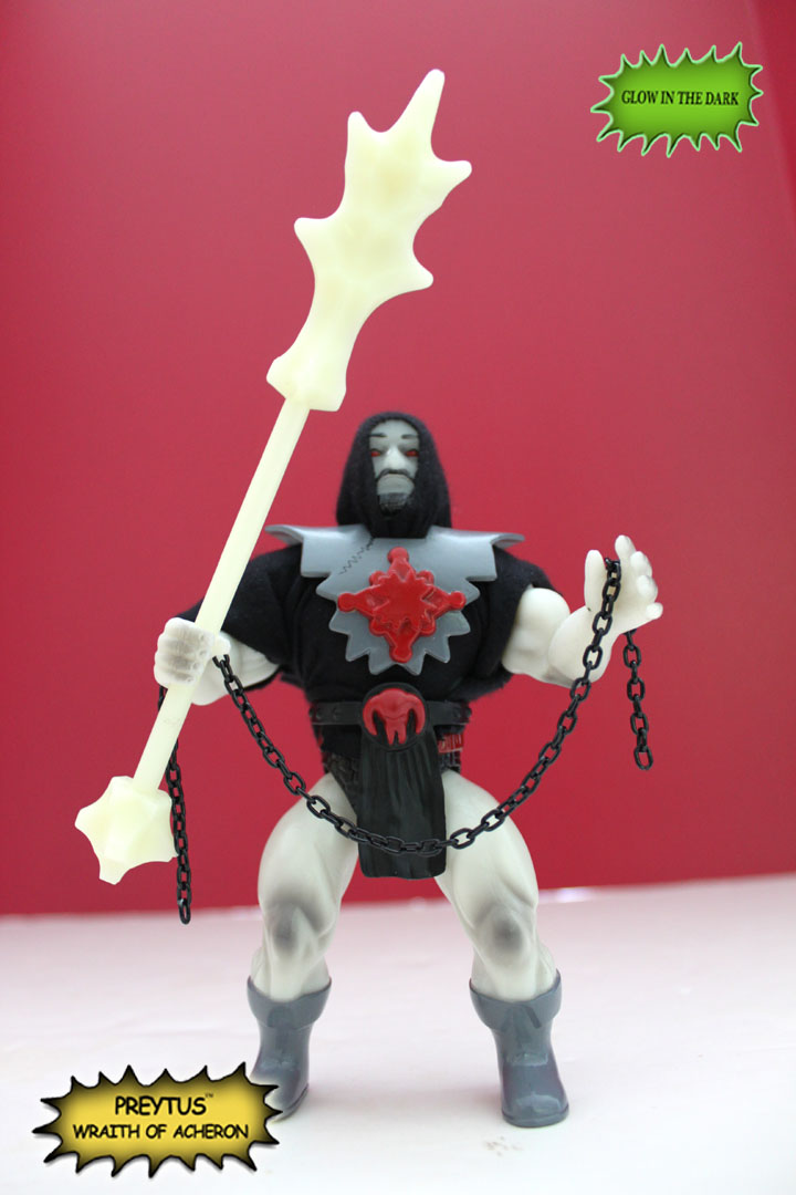 PREYTUS WRAITH OF ACHERON Interchaneable Vintage Action Figure