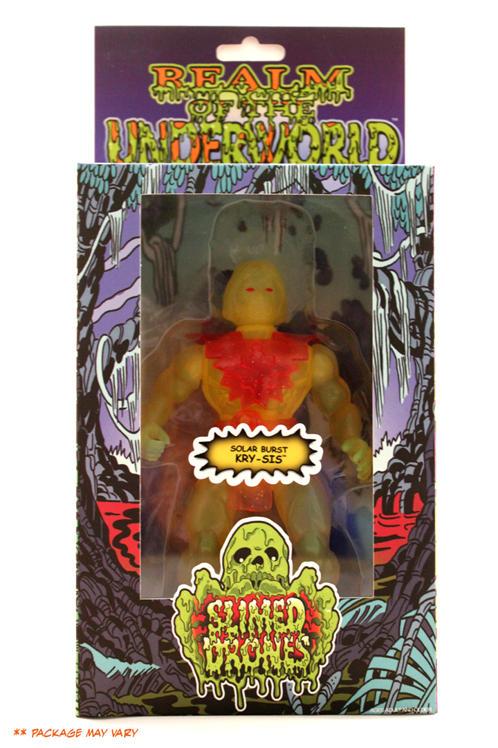 Solar Burst Krysis NYCC Slimed Drones Action figure MIB