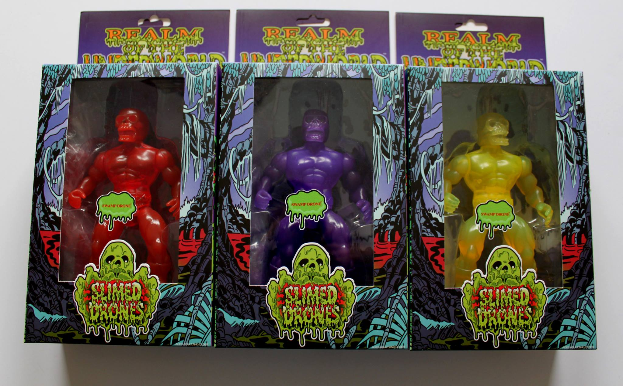 Swamp Drone Purple Specter Slime Drones Action Figure - Click Image to Close