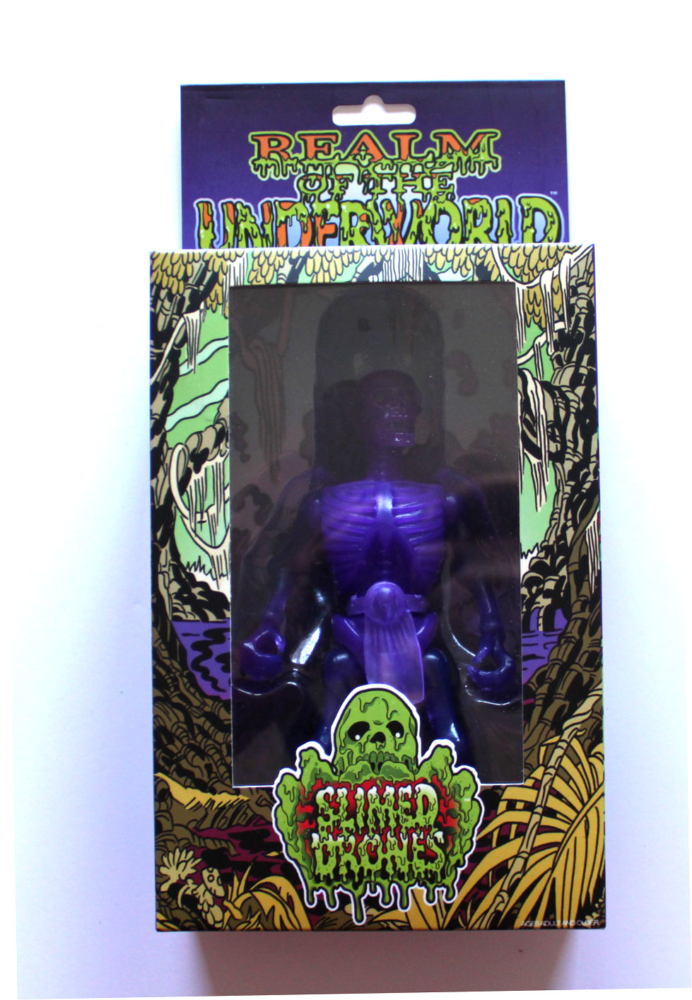 SLIMED DRONES Translucent SWAMP FIEND VIOLET MENACE MINION MIB