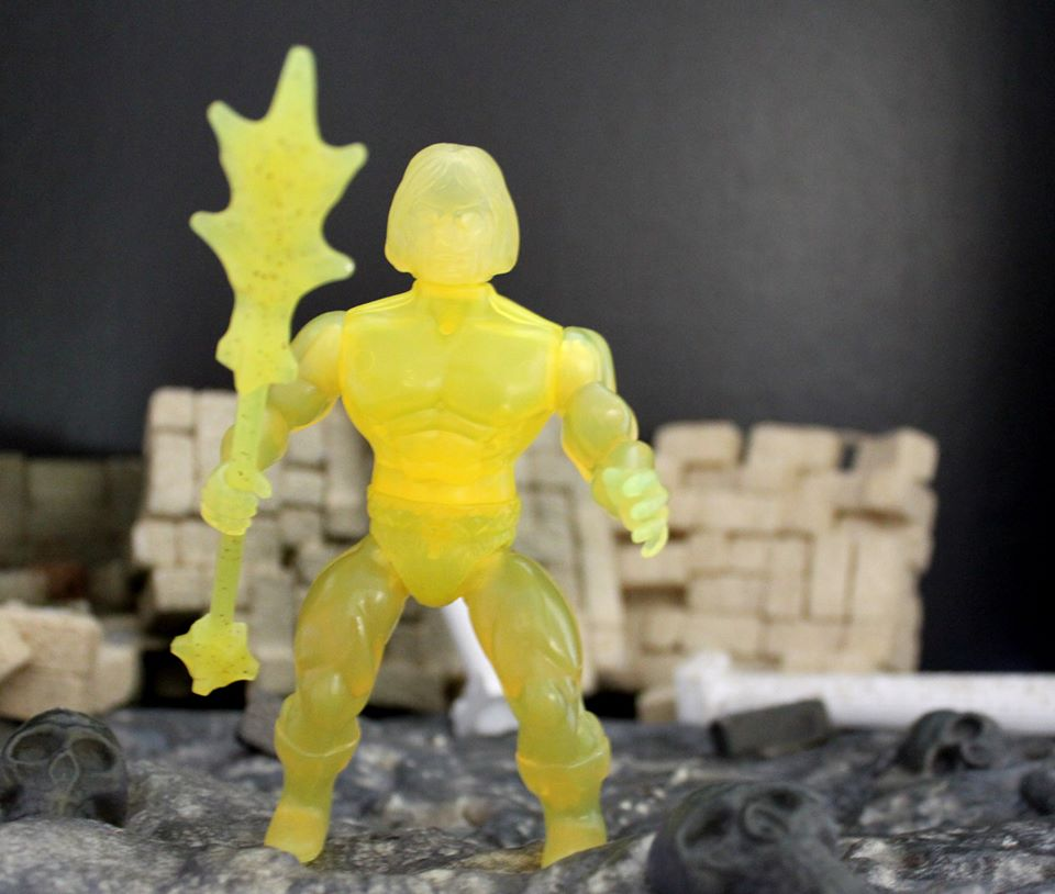 Swamp Drone Yellow Hallucination Slime Drones Action Figure